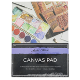 Master's Touch, Watercolor Canvas Paper Pad, 9 x 12 Inches, 10 Sheets