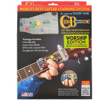 Hal Leonard, ChordBuddy Guitar Learning System: Worship Edition, by Travis Perry