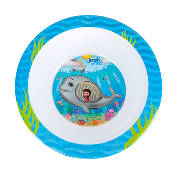 He Loves Me, Jonah and the Whale Bowl, Melamine, 6 1/2 inches