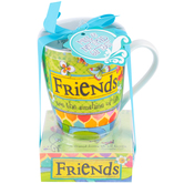 Divinity Boutique, Proverbs 17:17, Friends Coffee Mug and Notepad Giftset, 12 Ounces