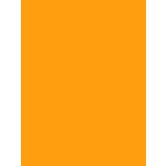Tru-Ray® Sulphite Construction Paper, 9 x 12 inches, Electric Orange, 50 Sheets