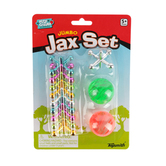 Toysmith, Jumbo Jax Set, Ages 5 Years and Older, 1 or More Players, 12 Pieces