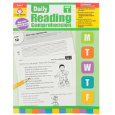 Evan-Moor, Daily Reading Comprehension Grade 1, Paperback, 208 Pages, Grade 1