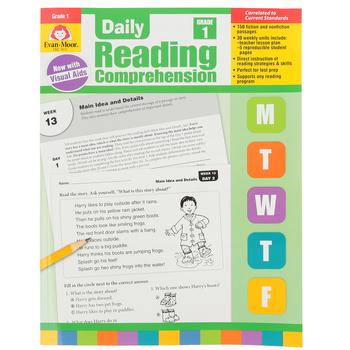 Evan-Moor, Daily Reading Comprehension Grade 1, Paperback, 208 Pages, Grade 1