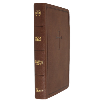 CSB Personal Size Bible, Imitation Leather, Brown