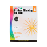 Spectrum, Critical Thinking for Math Workbook, 128 Pages, Grade 5