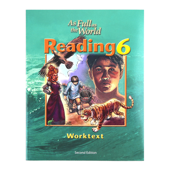 BJU Press, Reading 6 Student Worktext (2nd Edition)