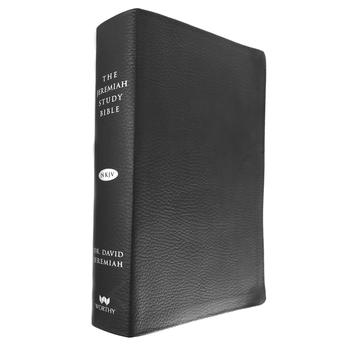 NKJV Jeremiah Study Bible, Genuine Leather, Black, Thumb Indexed