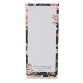 Christian Art Gifts, Isaiah 40:31 Hope In The Lord Magnetic Notepad, 8 1/2 x 3 3/4 inches