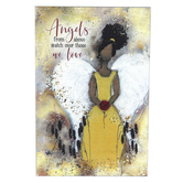 Dexsa, Angels From Above Angel Plaque, MDF, 6 x 9 inches