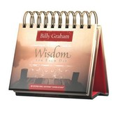 DaySpring, Billy Graham Wisdom For Each Day Perpetual Calendar, Paper, 5-1/2 x 5-1/4 x 1-1/4 inches