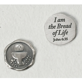 Cross/Chalice Pocket Token - Bread Of Life