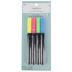 Chalk Markers, Fine Tip, 2 mm, Assorted Neon Colors, Pack of 4