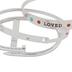 Modern Grace, John 3:16 Loved Bracelet Set, Zinc Alloy, Silver, Set of 3