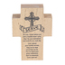 Dicksons, Serve Tabletop Cross, MDF, Wood Grain, 4 inches