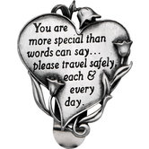 You Are More Special Heart Visorclip
