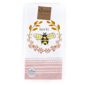 Kay Dee Designs, Queen Bee Dual Purpose Terry Towel, Cotton, 16 x 26 inches