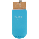 Christian Brands, John 4:14 Living Water Bottle Cover, Neoprene, Turquoise Blue, 7 inches