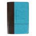 NLT Life Application Study Bible, Personal Size, Duo-Tone, Dark Brown and Teal