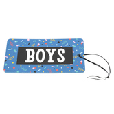 Colorfetti Collection, Boys Hall Pass, 3 x 6 Inches, 90's Retro Colors, 1 Each