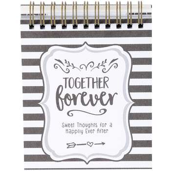 Brownlow Gifts, Together Forever EaselBook, Spiral Bound, 128 Pages, 4 x 5 inches