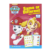 Retail Centric Marketing, Nickelodeon Paw Patrol Same or Different Pre-K Workbook, Paperback, 32 Pages