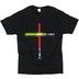 Gardenfire, John 8:12 Life Saver, Men's Short Sleeve T-Shirt, Black, 2X-Large