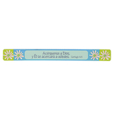 Christian Art Gifts, Acerquense A Dios Magnetic Strip, 3/4 x 7 1/2 inches