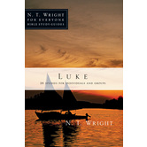 Luke, N. T. Wright For Everyone Bible Study Series, by N. T. Wright, Paperback