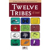 Twelve Tribes of Israel, by Rose Publishing, Pamphlet