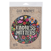Natural Life, Kindness Matters Car Magnet, 5 3/4 Inches