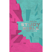 NKJV Study Bible for Kids, Duo-Tone, Pink and Teal