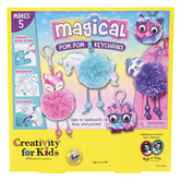 Faber-Castell, Magical Pom Pom Keychains, Assortment, 8 x 8 Inches
