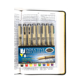 Pigma Micron, Inductive Bible Study Kit, Pack of 8 Pens