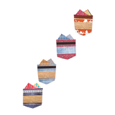 Goin' West Collection, Large Cutouts, 6 x 6 Inches, Assorted Designs, 36 Pieces