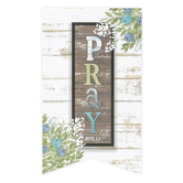 Salt & Light, James 1:5 Pray Farmhouse Magnetic Bookmark, 2 1/4 x 4 inches