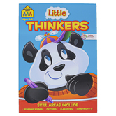 School Zone, Little Thinkers Workbook, Preschool, Paperback, 64 pages, Ages 3-5