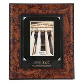 Green Tree Gallery, Wide Wood Veneer Photo Frame, Brown, 8 x 10 inches