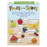Renewing Minds, Anchor Chart Fruit of the Spirit, Multi-colored, 17 x 22 Inches, 1 Each, Grades K-3