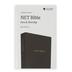 NET Pew and Worship Bible, Hardcover, Black