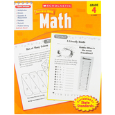 Scholastic, Success With Math Activity Book, 64-Pages, Paperback, Grade 4