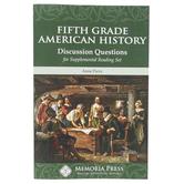 Memoria Press Discussion Questions for American Studies Supplemental Reading Set, Grade 5