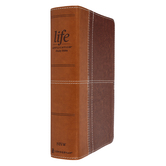 NIV Life Application Study Bible, Personal Size, 3rd Edition, Multiple Colors, Thumb Indexed
