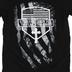 NOTW, Stand for the Flag Kneel for the Cross, Men's Short Sleeve T-Shirt, Black, 2X-Large
