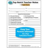 Teacher Notes Discipline Check Points