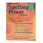 Castlemoyle Books, Spelling Power Teacher Manual, 5th Edition, by Adams-Gordon, Grades 3-12