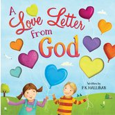 A Love Letter from God, by P. K. Hallinan and Laura Watson, Hardcover