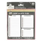 Schoolgirl Style, Industrial Cafe, Rectangle Notepad, 5.75 x 6.25 Inches, Multi-Colored, 50 Sheets