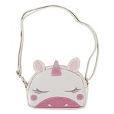 Stephen Joseph, Unicorn Fashion Purse, Polyurethane & Polyester, White & Pink, 6 x 4 1/4 inches