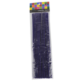 Tree House Studio, Chenille Stems, 12 x 1/4 Inches, Purple, 50 Count